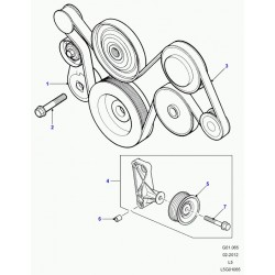 BRACKET AND PULLEY ASSY
