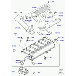 AC WOW Lot de 2 d/éflecteurs dair pour Land Rover Freelander 1997-2006 Mk1 L314 3 portes convertibles SUV Am/énagement Int/érieur