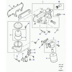 centrifuge refroidisseur d'huile