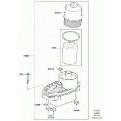couvercle-carter filtre a huile