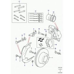 disque de frein avant ventile