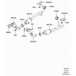 collier de serrage-echappement