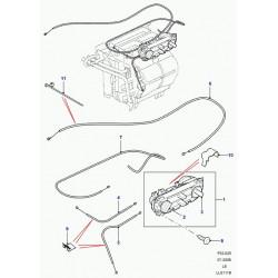 cable de commande-chauffage