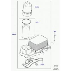 filtre d'huile et refroidisseur