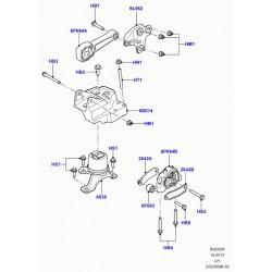 bloc elastique-suspension moteur