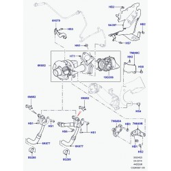 bouclier thermique-turbocompresseur