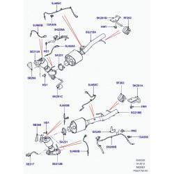 capteur-pression gaz echappement