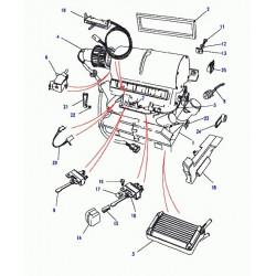 moteur-ventilateur de chauffage