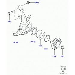 ecrou arbre de roue