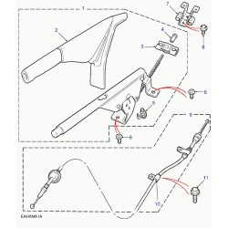 cable de frein a main
