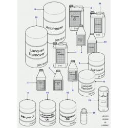 huile-lubrifiant mtf94 en 25 litres pour ird