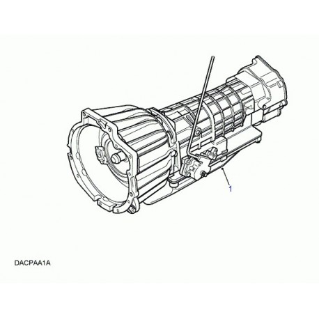 Land rover boite de vitesses automatique Range P38 (TGD101040E)