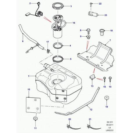 Joint pompe à Carburant Pour Réservoir Defender//RR CLASSIC//DISCOVERY 1 WGQ000020