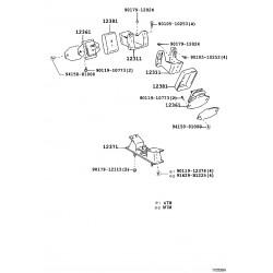 isolant d'accouplement moteur ar no. 1