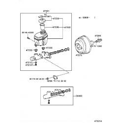 sous-ens. de maitre-cylindre de frein
