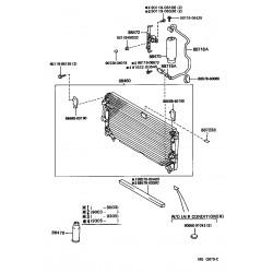 ensemble condenseur de climatiseur
