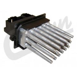 resistance ventilateur chauffage