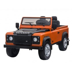 DEFENDER ELECTRIQUE ORANGE 2 PLACES