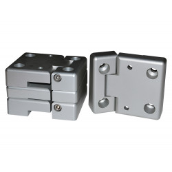 ALUMINIUM REPLACEMENT DOOR HINGE KIT