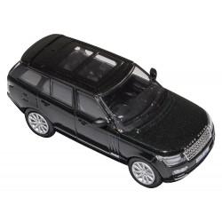 miniature range rover vogue modele santorini noire en 1.76 eme