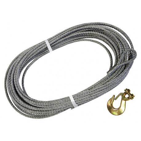 Britpart cable acier 9 5mmx30 5m (64563)