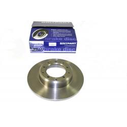 disque de frein arriere avec abs non ventile Defender 90, 110, 130