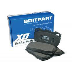 jeu de plaquettes de frein britpart xd - avant Defender 90, 110, 130