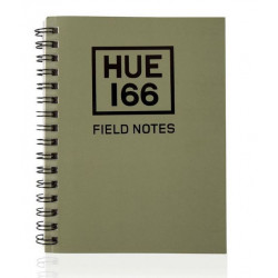 Carnet de notes Hue Small A6 - Vert