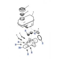 maitre cylindre de freins sans bocal
