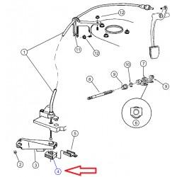 retenue de cable embrayage