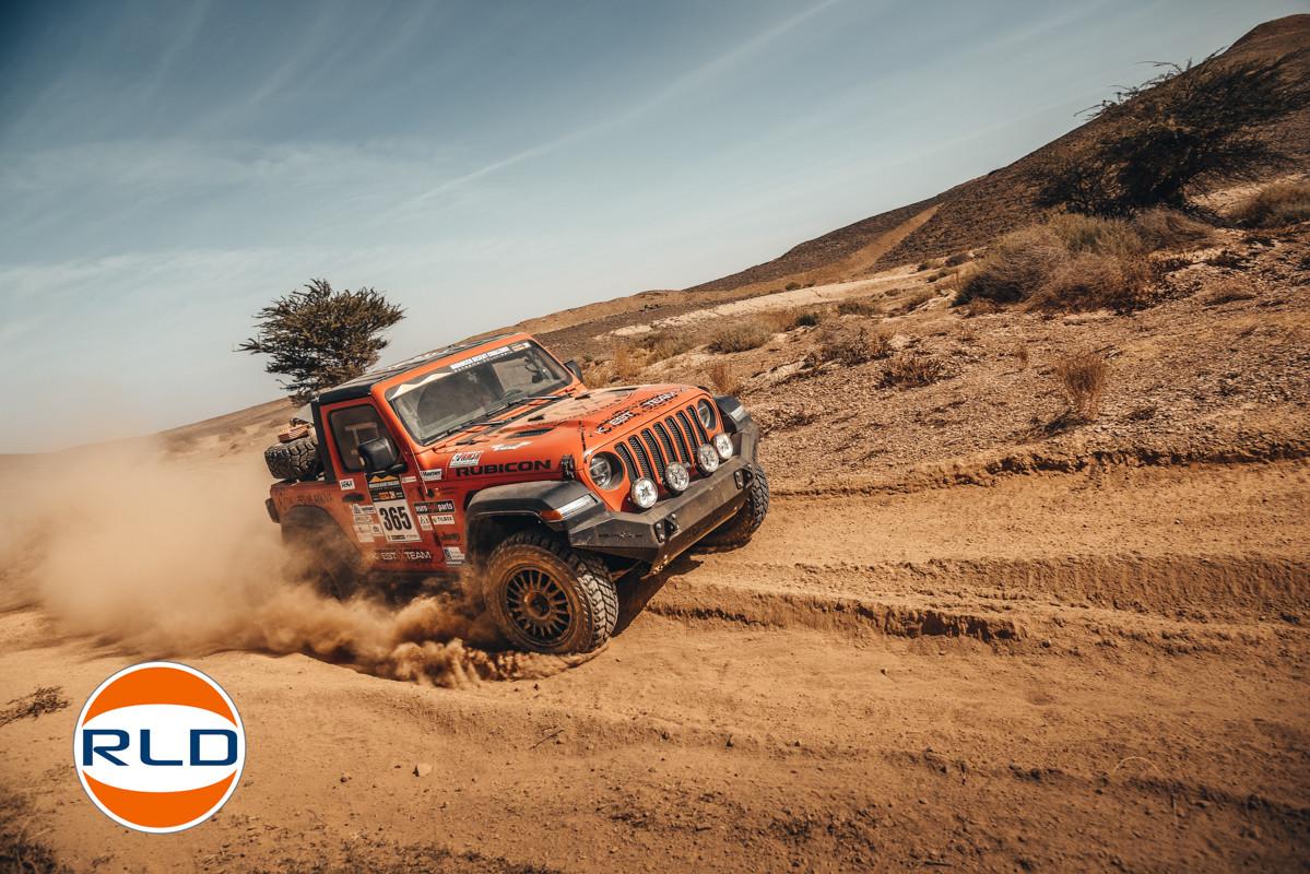 Jeep Wrangler JL 2,0L Turbo Rallye raid Dakar