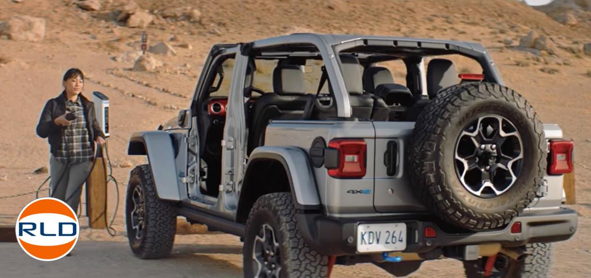 Jeep Wrangler 100% électrique 2021