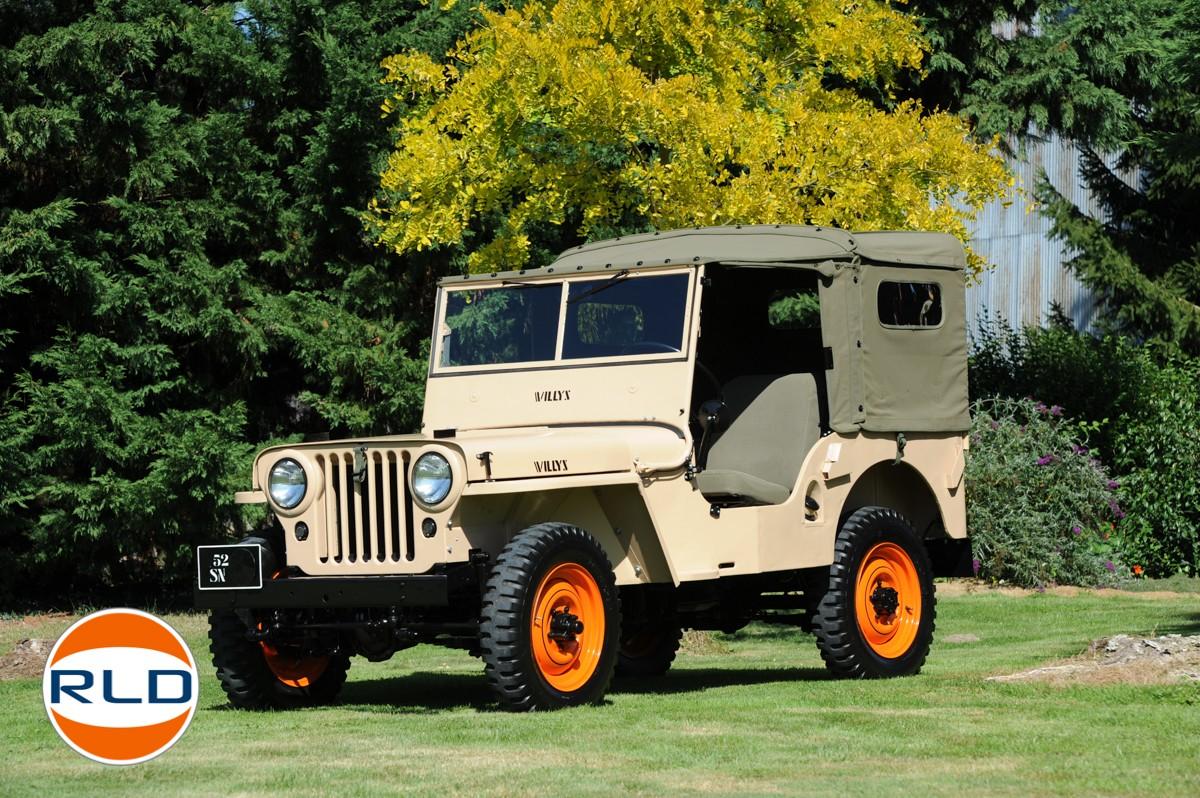 Jeep CJ2A 1946