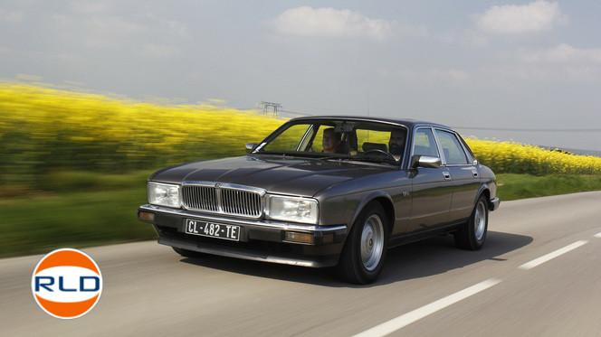 Jaguar XJ6 XJ40 Le luxe à l'anglaise