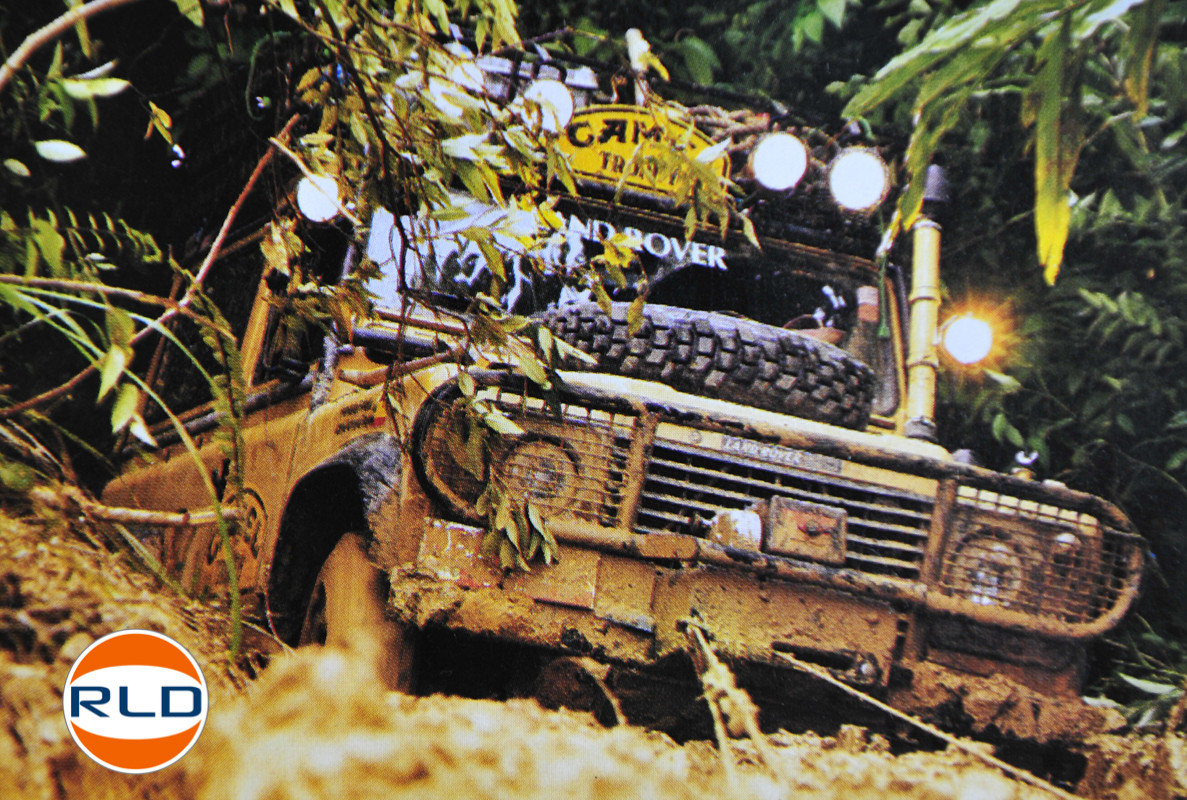 Land Rover 90 Camel Trophy collector