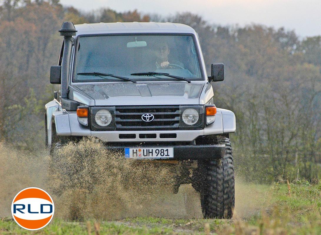 Toyota HZJ 71  Préparation Isländer